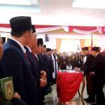 Pelantikan Dewan DPRD Bengkulu Utara