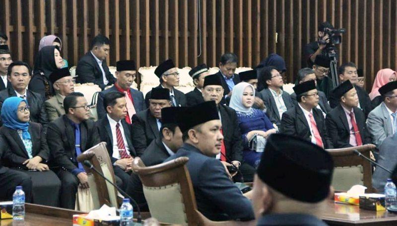 Pelantikan DPRD Provinsi Bengkulu priode 2019-2024