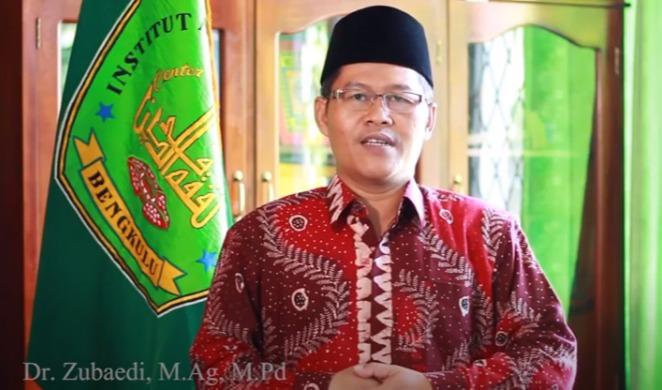 Akademisi IAIN Bengkulu Dr Zubaedi M.Ag M.Pd