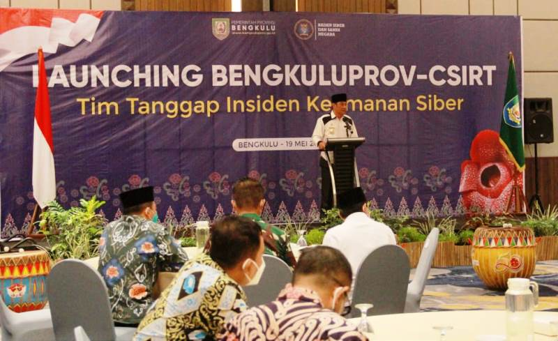 Pemprov Bengkulu Launching CSIRT